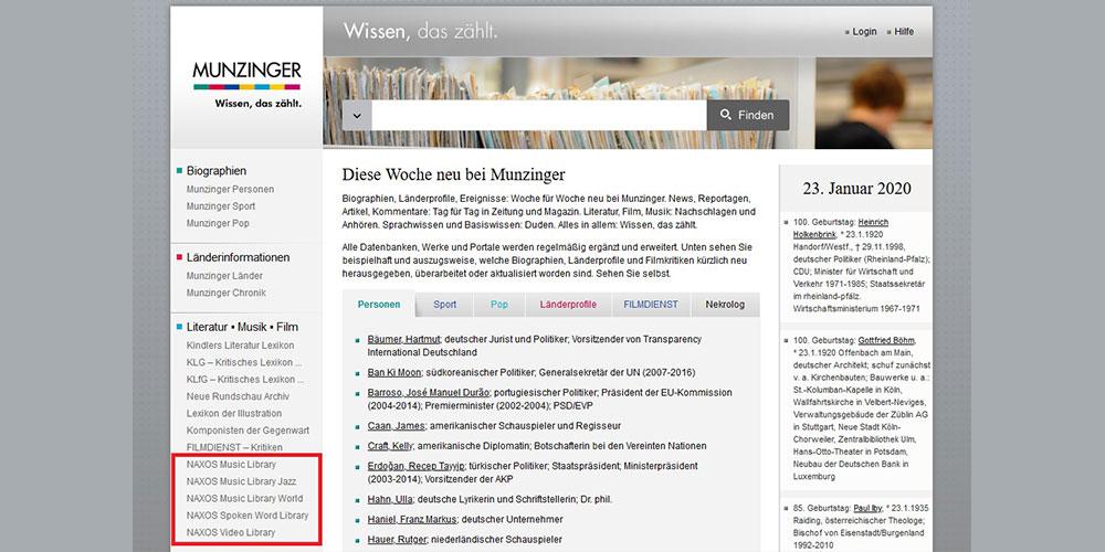 Munzinger.de