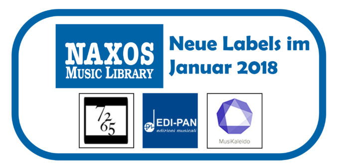 NML Neue Labels Jan 2018