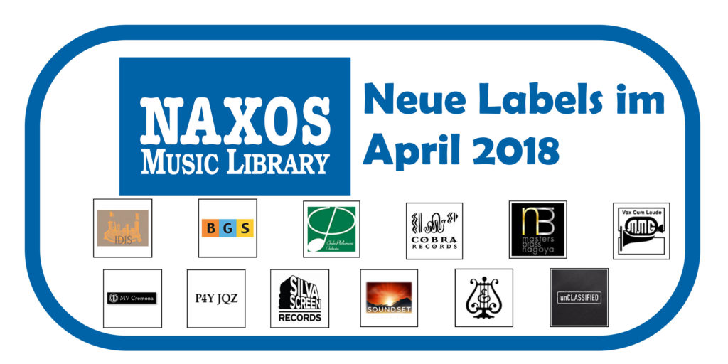 NML Neue Labels April 2018