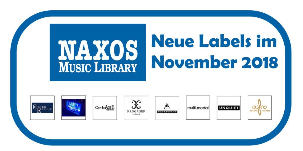 Neue Labels NML 11 2018