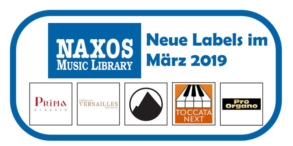 Neue Labels in der NML im März 2019