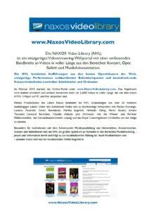 Naxos Video Library 2019_Broschüre