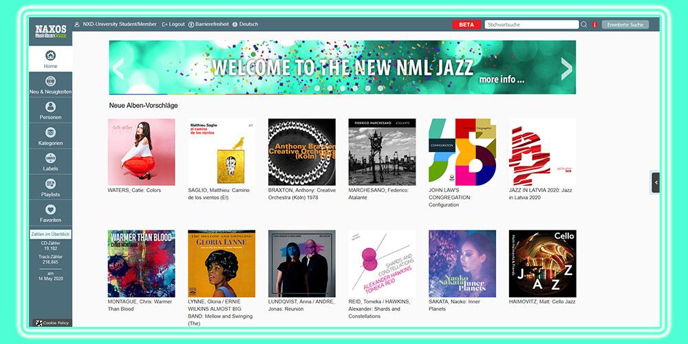 NML 3 Jazz Startseite intern