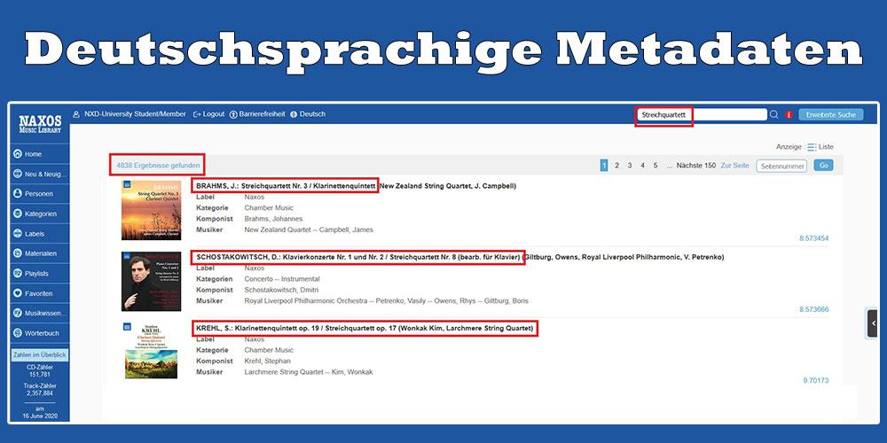Deutsche Metadaten