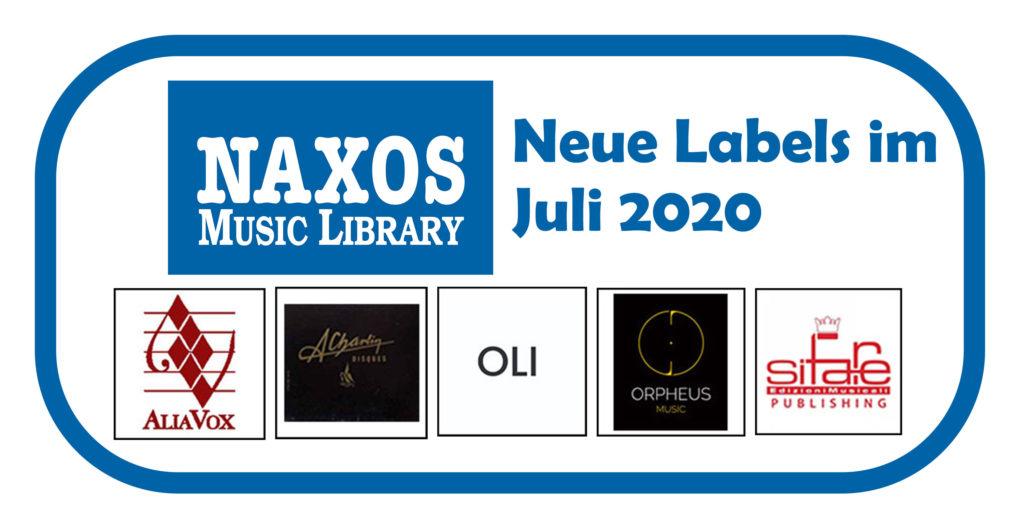 NML Neues Labels Juli 2020