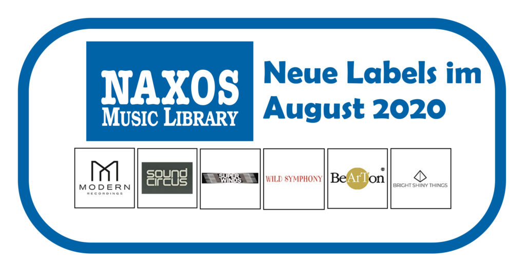 NML Neue Labels August 2020