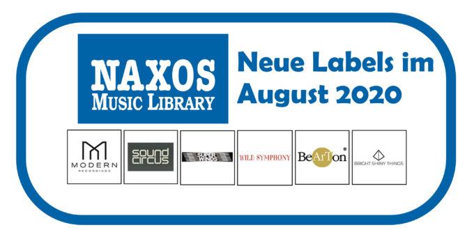 NML Neue Labels August 2020