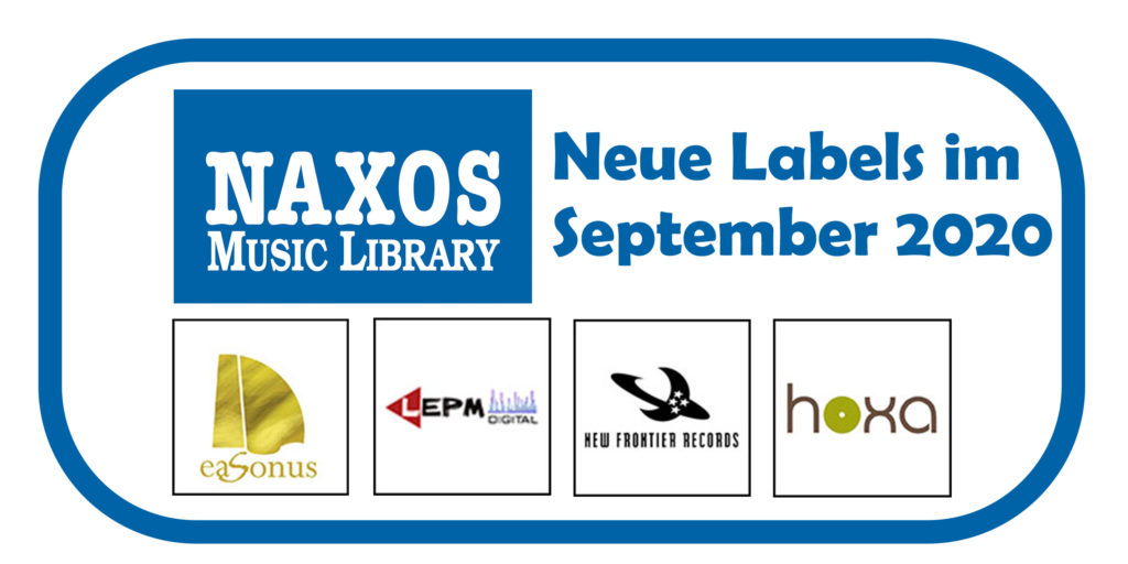 NML Neue Labels September 2020