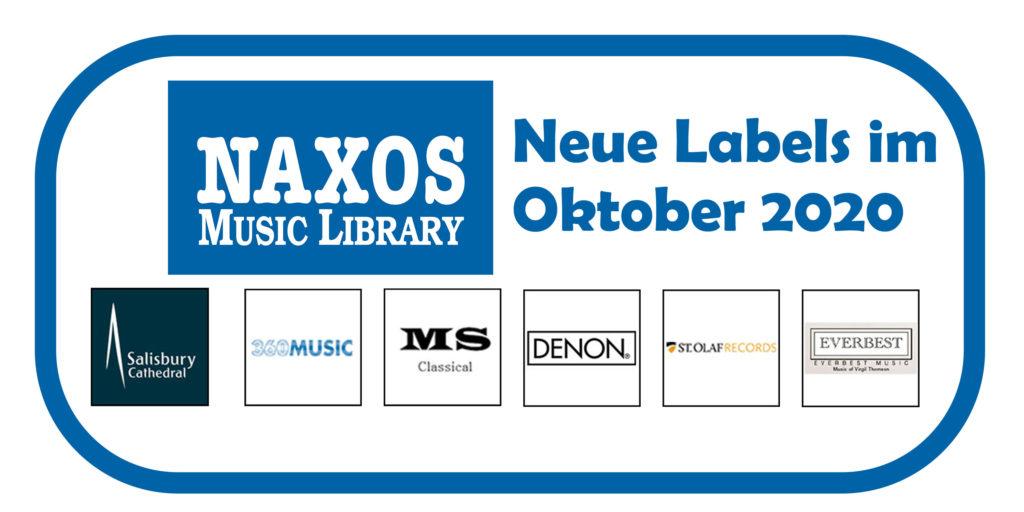 NML Neue Labels Oktober 2020