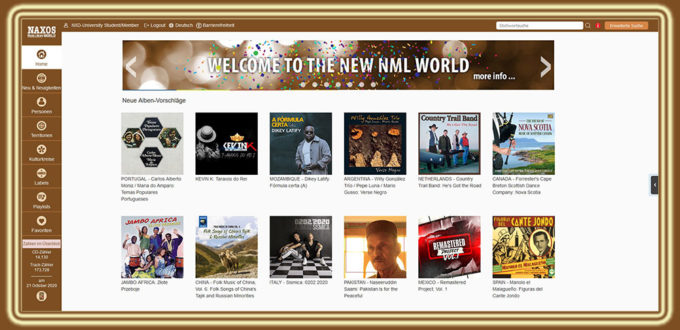 NML 3 World Startseite
